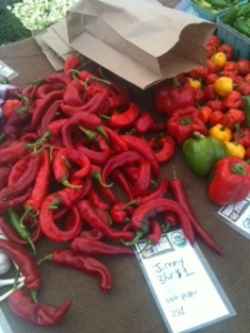 Sugar Creek Farm peppers