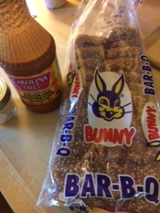 The one and only BBQ Bread by Bunny!