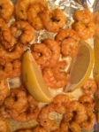 oven roasted lemon shrimp